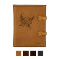 Engraved Saddleback Leather iPad Case