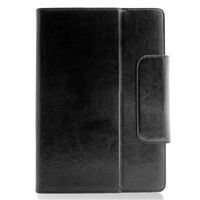 "Universal 8"" Leather Tablet Case - TEXT Debossed"