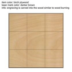 Set of 9 Wood Squares Thumbnail
