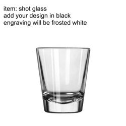 Laser Engraved Shot Glasses Thumbnail