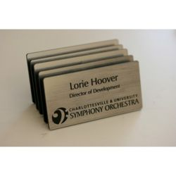 Engraved Magnetic Name Tag Thumbnail