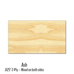 Wood Veneer Business Cards Thumbnail
