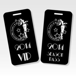 Engraved Metal Luggage Tags Thumbnail
