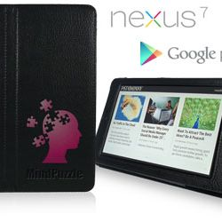 Debossed Nexus 7 Smart Case Thumbnail