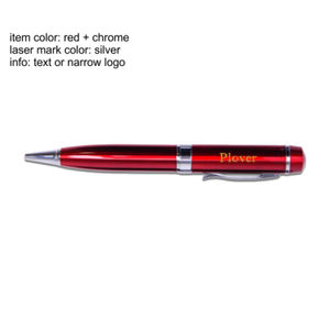 Pen & Laser Pointer with USB Flash Drive (4 GB) Thumbnail